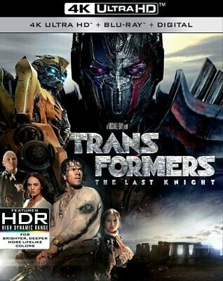Transformers the Last Knight 4K Ultra HD + Blu-Ray + Digital