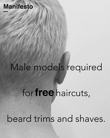 Free haircuts, beard trims and wet shaves