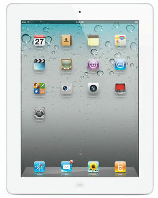 Apple iPad 2 16GB, Wi-Fi, 9.7in - White, Used, Unlocked, Factory Reset