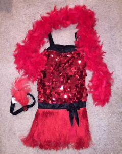 Costume - Red Flapper