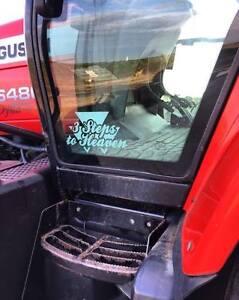 Massey Ferguson Tractor Combine 3 Steps To Heaven Sticker Decal