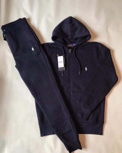 NEW mens navy blue Ralph Lauren tracksuit size M (not Nike ab7b5dc4d