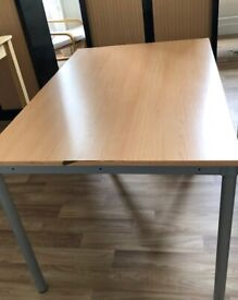 Table 120 cm- length 80 cm - width 71 cm - height