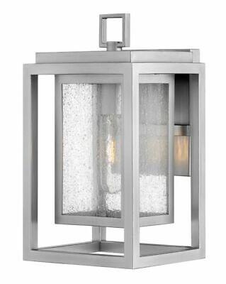 Hinkley Lighting 1000SI Republic Outdoor Wall Light, Satin Nickel