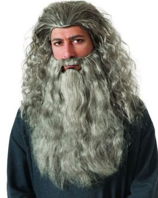 Lord Of The Rings Gandalf Mithrandir Beard And Wig Cosplay Modeling Wig Hair