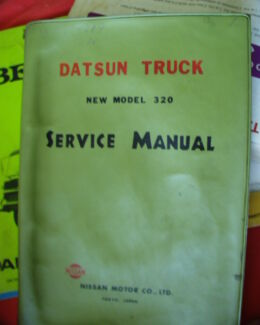 Hino jo8e t1 truck and bus engine workshop manual truck parts datsun 320 u truck workshop service manual c1960s fandeluxe Gallery