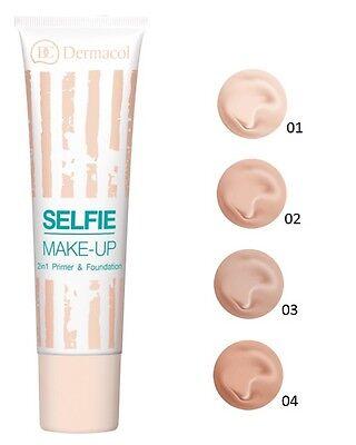 Dermacol SELFIE Makeup 2-in-1 Primer & Foundation Easy two-step make-up