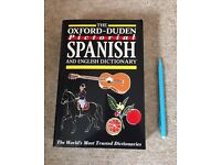 OXFORD DUDEN PICTORIAL SPANISH DICTIONARY