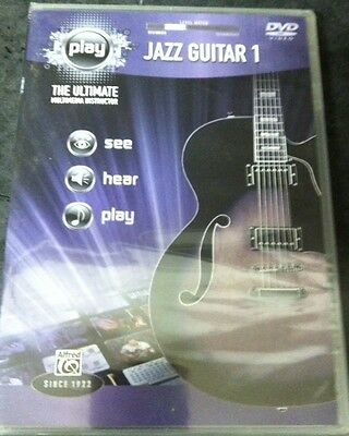 Music DVD - PLAY Jazz Guitar 1 : The Ultimate Multimedia Instructor