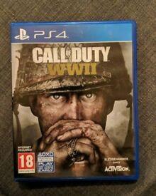 Call of Duty WW2! LIKE NEW!