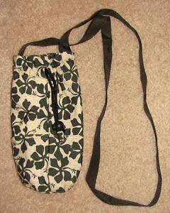 cloth water bottle carrier in excellent condition