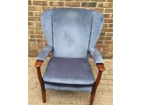 Parker knoll wing back chair