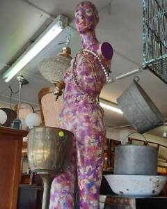 Upcycled Decoupage Mannequin, Full Bodied Newcastle Newcastle Area Preview