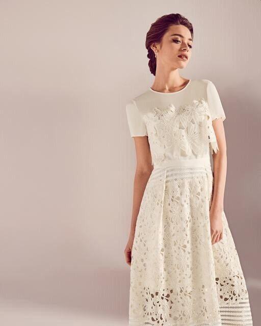 New Ted Baker Wedding Dress Size 12