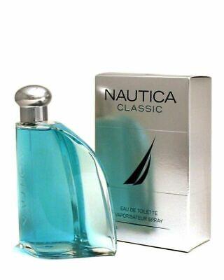 Nautica Classic Cologne 3.4 oz 3.3 oz 100 ML EDT Spray New In Box