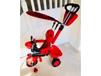 SmarTrike Ladybird Trike Touch Steering. 4-in-1 tricycle for 10 months+