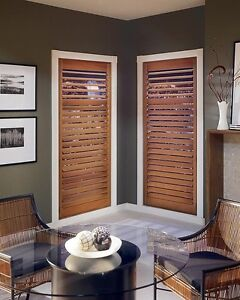 Real Timber blinds BIG DISCOUNTS FREE QUOTES Perth Perth City Area Preview