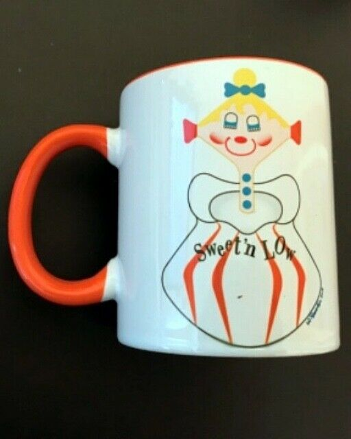 Retro Pixie kins Mug #2 in set-by Walter Dworkin Holt Howard Era - Adorable
