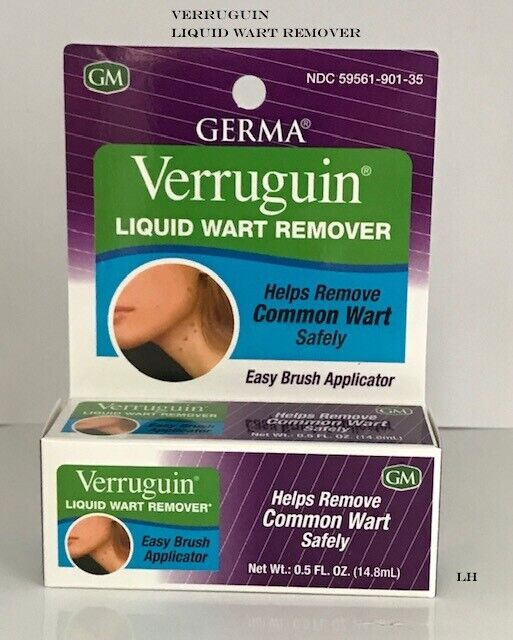 Germa Skin Wart Remover.,Salicylic Acid 17%. Removedor de Ve