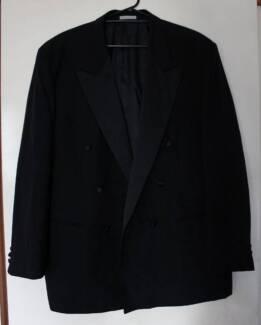 Senator Brand Black Suit Jacket & Pants Size 120R (Paid $399)