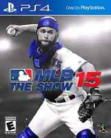 MLB the show 15 for PS4 MINT!