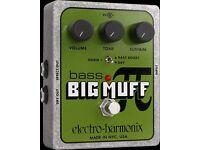Big Muff (Electro-Harmonix) Bass Pedal!