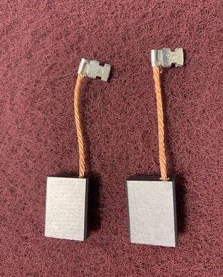 Clarke B2 Carbon Brush Wwire Clip Set Of 2 Part 40583a
