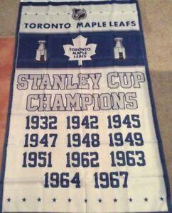 Brand New Toronto Maple Leaf Flags