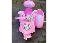 Peppa Pig ride on 6v trike
