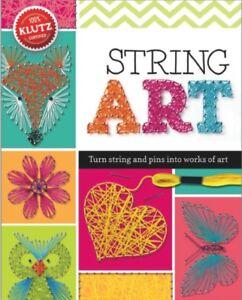 Klutz String Art Book Kit, Steele-Staccio, Eva, 9780545703215