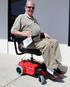 Pride Mobility Go Chair Portable Travel Electric