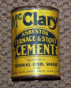 McClary can for McClary memorabilia