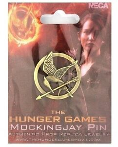 The Hunger Games Katniss Everdeen Mockingjay Pin Brooch Badge Cosplay Prop