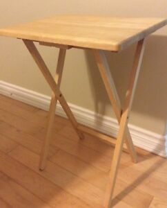 Wooden collapseable dinner tables St. John's Newfoundland image 2
