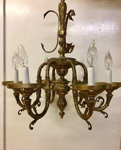 Lustre antique - Antique chandelier