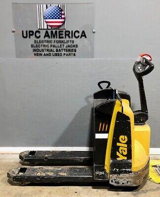 2018 Yale Electric Pallet Jack Mpb045 4500 Lb Capacity 2018 Batteries Charger
