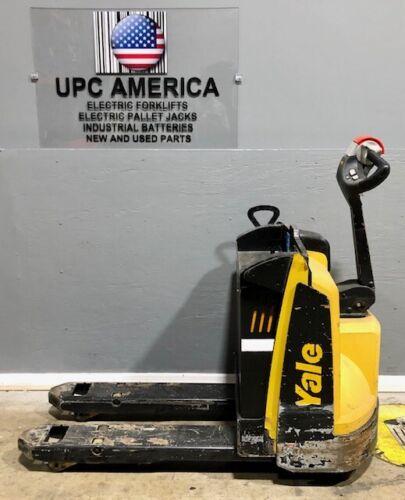 2018 Yale Electric Pallet Jack MPB045 4,500 Lb Capacity, 2018 Batteries Charger