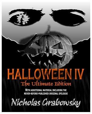 HALLOWEEN IV 4 SPECIAL NICHOLAS GRABOWSKY NOVEL BOOK PDF OF HALLOWEEN 4 1988