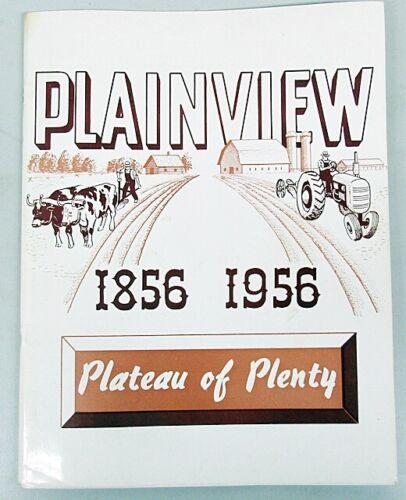 1856 - 1956 PLAINVIEW MINNESOTA CENTENNIAL MAGAZINE