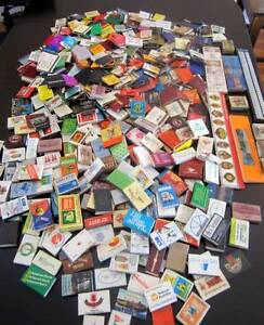 DECEASED ESTATE Collection of assorted matchboxes & Booklets. Watanobbi Wyong Area Preview