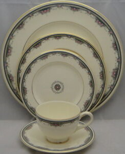 Royal Doulton Albany Pattern China 8 Place Settings Plus Extras