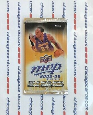 2008-09 UD MVP Hobby PACK 1 Rookie (Kobe Bryant Michael Jordan Auto/Patches)? Kobe Bryant 2008 Mvp Basketball