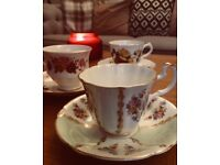 Tea Cups & Saucers - Large Collection of Various Vintage Teacups 100