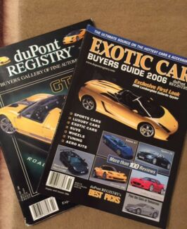 Exotic Car Buyers Guide duPont Registry 2006