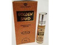 Golden Sand 6ml (box of 6) Al Rehab Perfume Oil/Attar/Ittar (6mlx6)