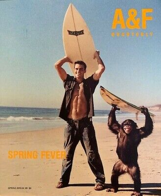 Abercrombie & Fitch Catalog Spring Break Quarterly 1999 Bruce Weber Photos A&F