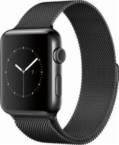 Apple Watch 2 • black aluminum 42mm with bracelets