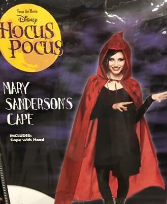 Mary Sanderson Hocus Pocus Costume (Mary Sanderson Cape Hocus Pocus Movie Halloween Costume Accessory Adult)