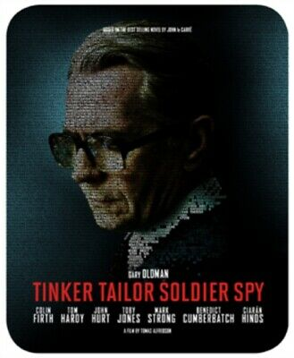 NEW Tinker Tailor Soldier Spy - Limited Edition Steelbook Blu-Ray +