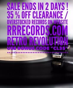 RETRO REVOLUTION  -LAST TWO DAYS - RECORD SALE ! -Til May 19